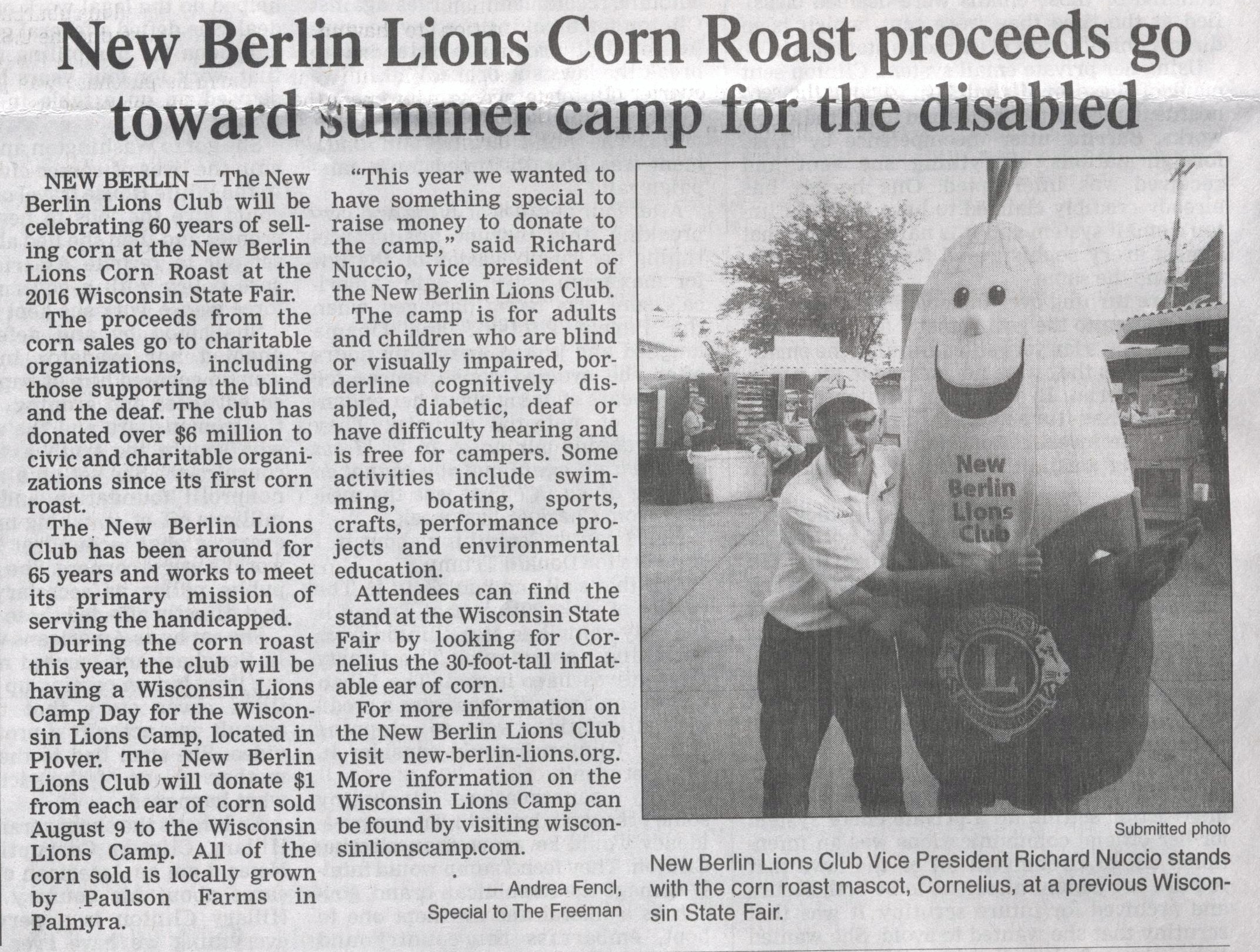 Freeman Jul 2016 Corn Roast Article